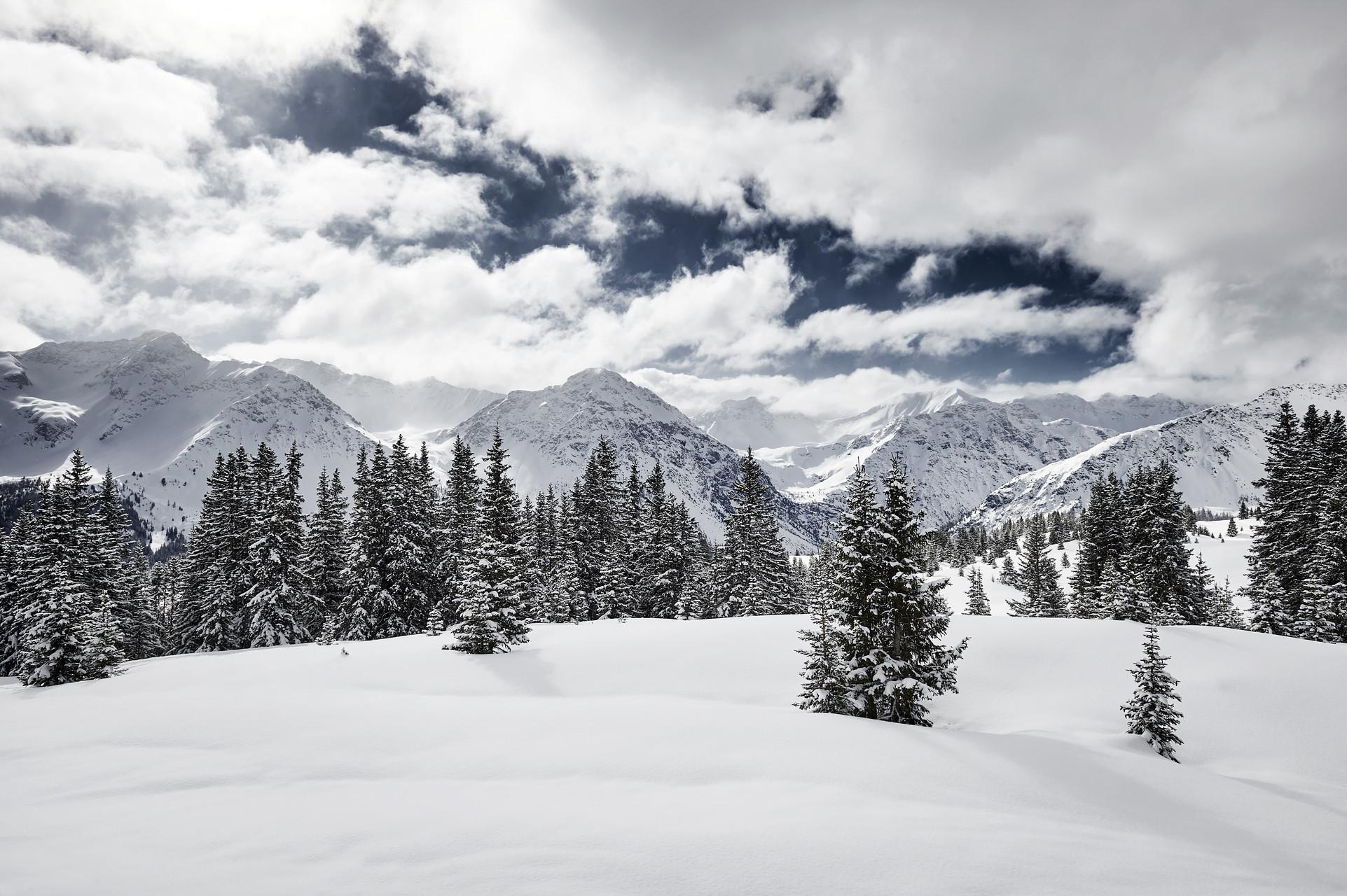 Daheim im Schnee